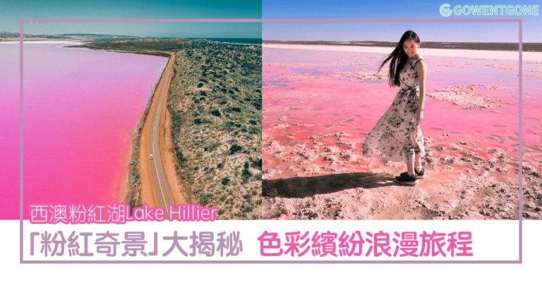 讓人少女心爆發的西澳粉紅湖Lake Hillier,可遇不可求的夢幻粉色美景。 「粉紅奇景」大揭秘,在西澳展開色彩繽紛浪漫的旅程吧!