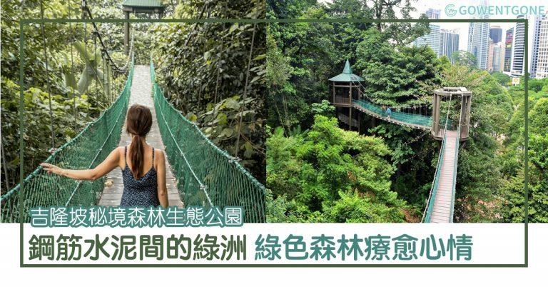 吉隆坡祕境森林生態公園 |鋼筋水泥間的綠洲, 遠離喧囂找到片刻安寧,出走綠色森林,撫慰焦躁不安的心,療愈心情~